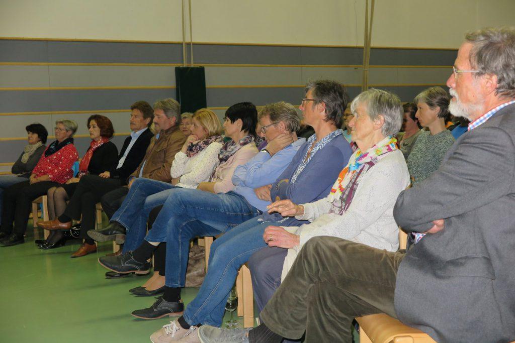 Gäste beim Vortrag