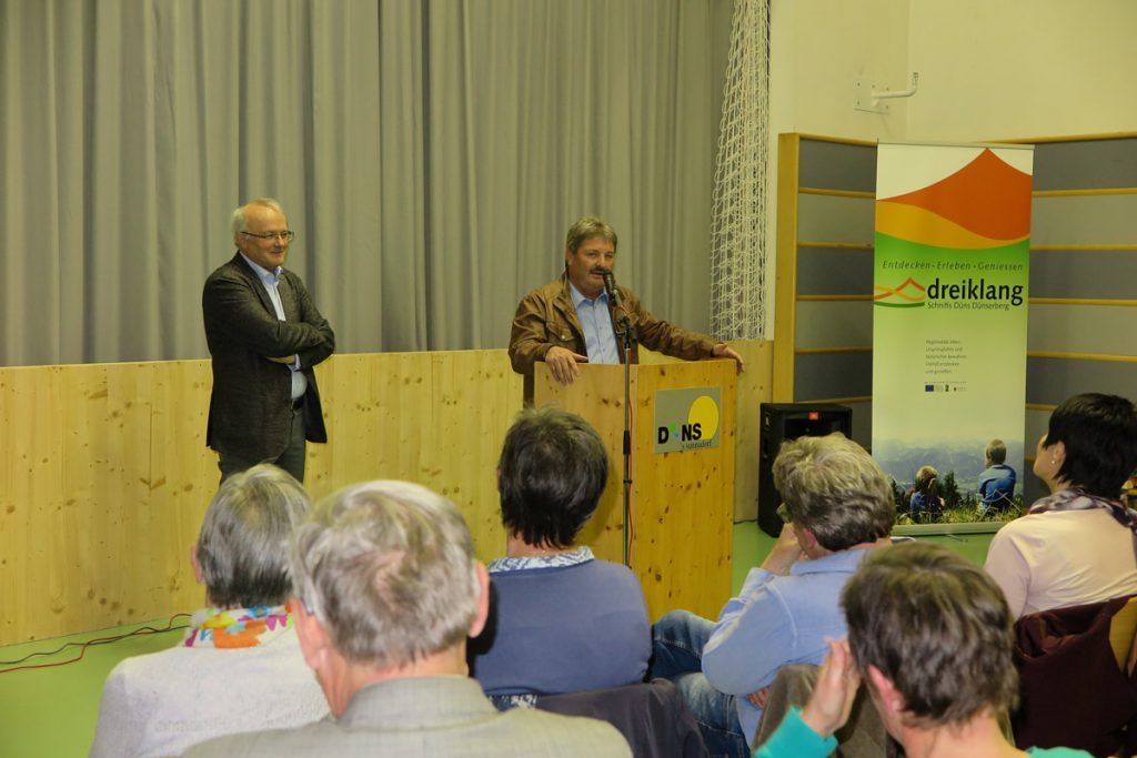BM Mähr dankt Univ.Prof.Prim.Dr.Haller