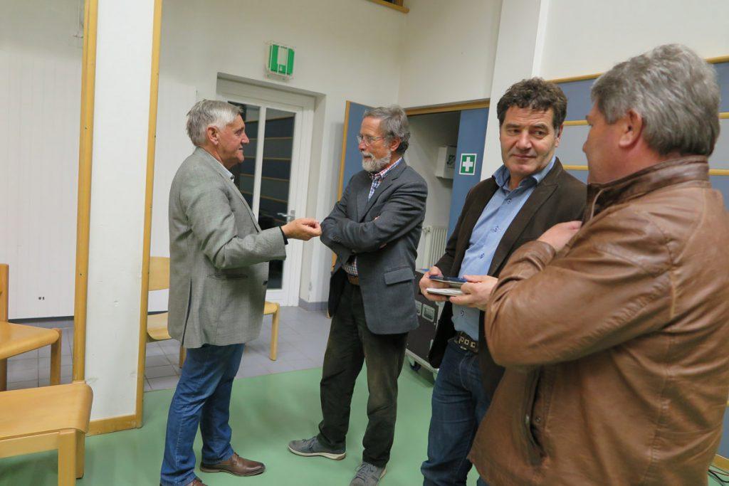 Günter Stadler im Gespräch