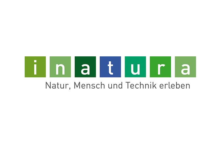 Logo Inatura - Natur, Mensch und Technik erleben
