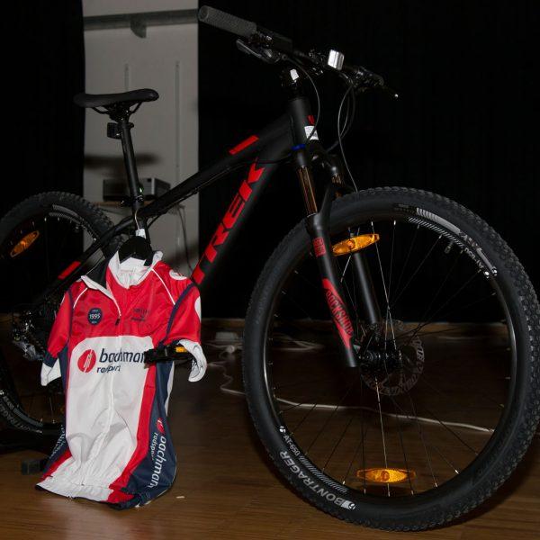 Mountainbike als Hauptpreis